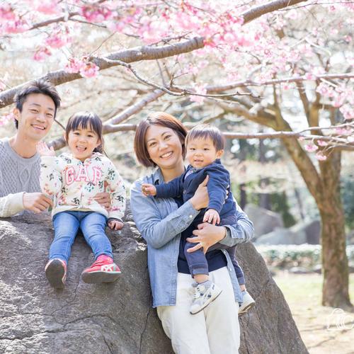 *こどもと家族のお写真撮影会* ②3月24日(土)大宮公園または大宮第二公園
