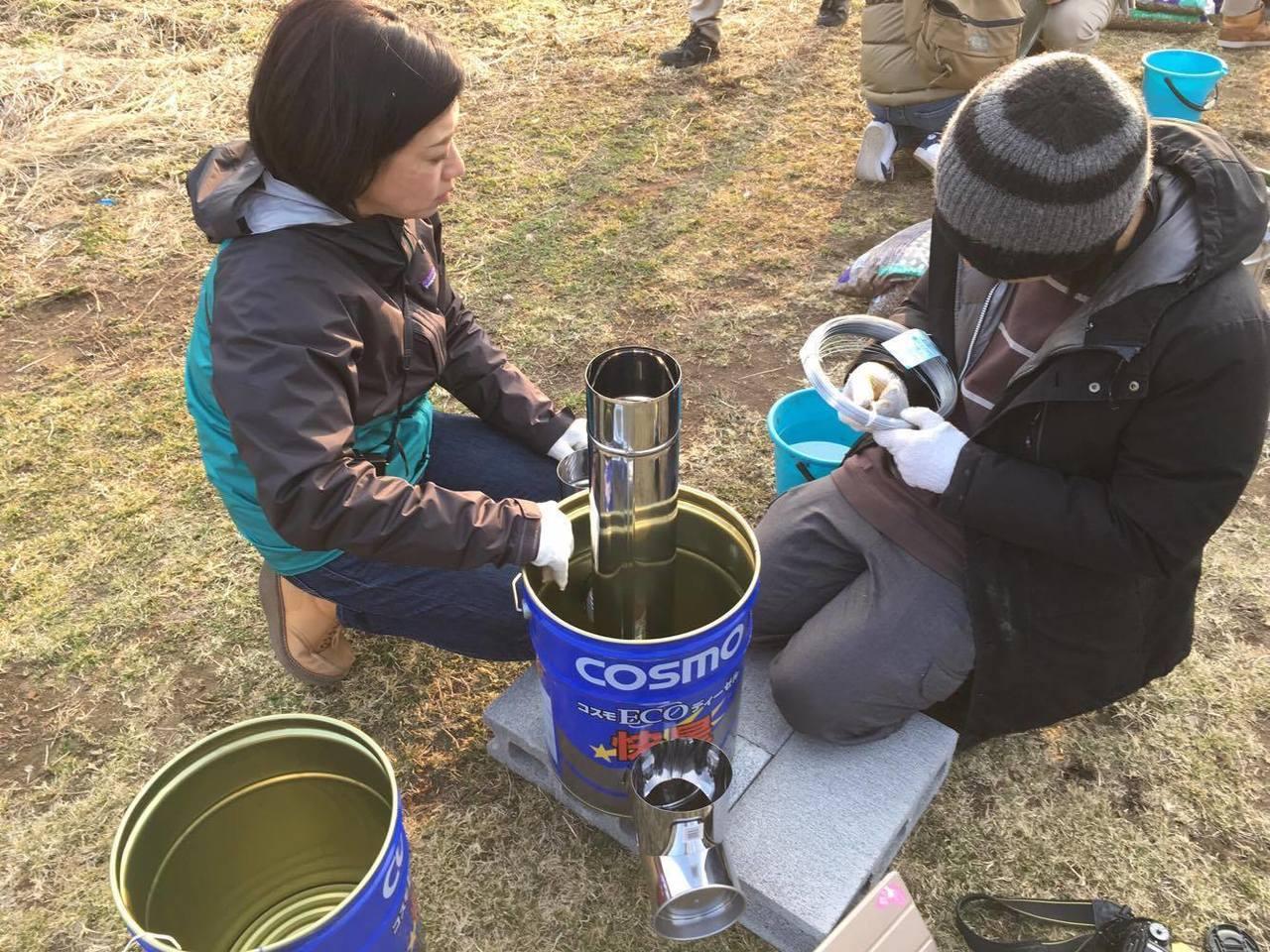 ペール缶でロケットストーブ作り〜災害にも野外にも役立つ自作ストーブを手に入れよう〜