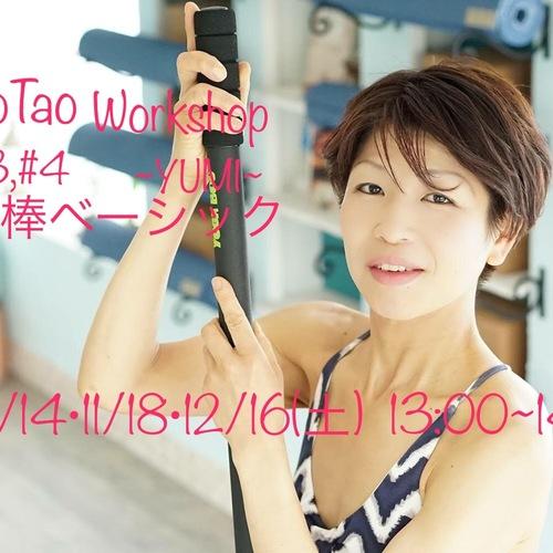 WSヨガ棒ベーシック(第2・3・4回) YUMI