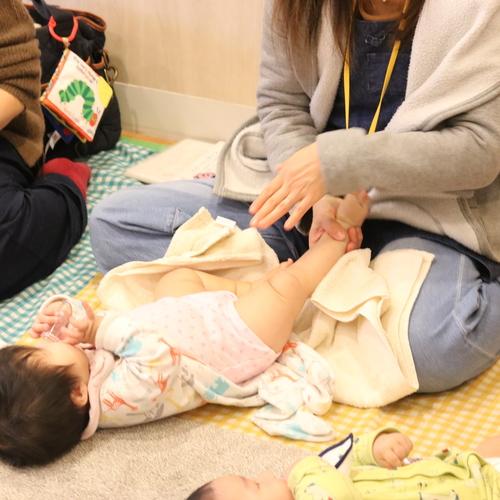 【12/14みのマママルシェ】ベビーマッサージ