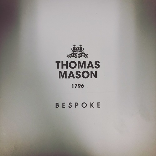 NEW THOMAS MASON BESPOKE FAIR