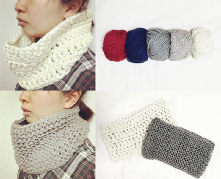 ●11月27日(金)『手編みのかんたんスヌード。』