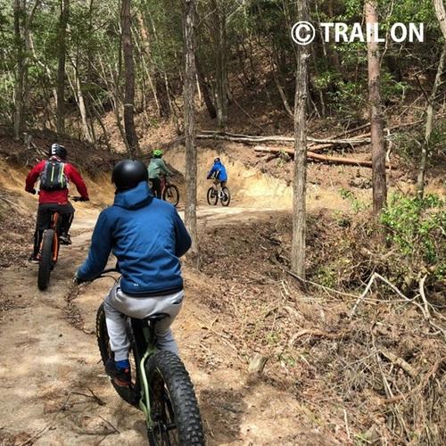 E-MTB フォレストツアー(冒険の森 in ひるぜん)