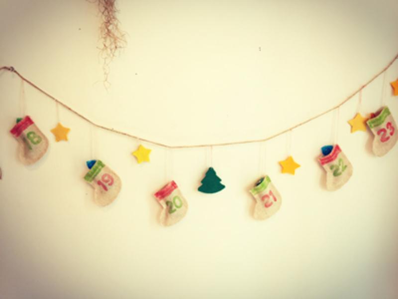 ●11月7日(土) 『靴下のアドベントカレンダー作り』