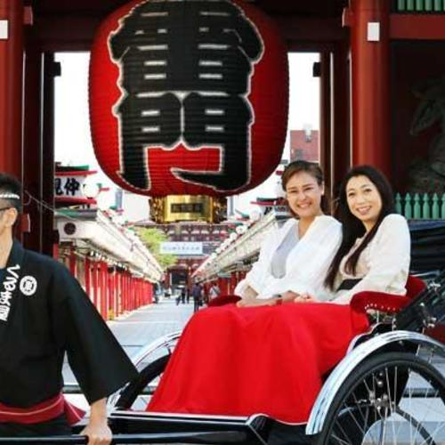 Asakusa sightseeing by Rickshaw〔30-minute course〕