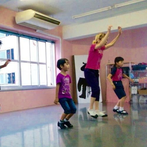 子供タップダンス体験レッスン