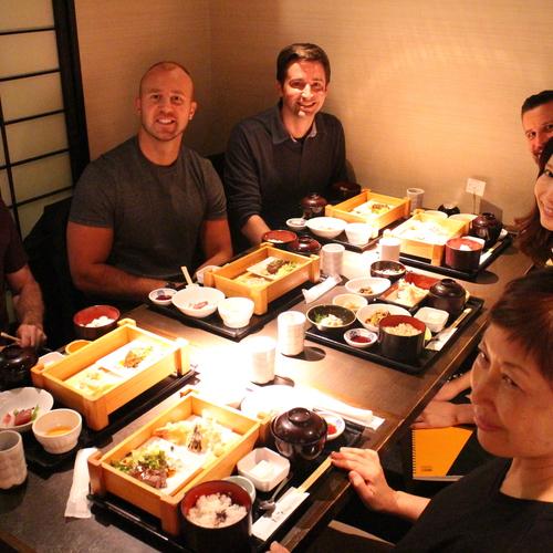 Lunch Tour in Kagurazaka Hanakagura