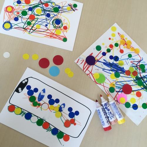 アートDEあそぼう 1,2歳児親子体験会 開催します