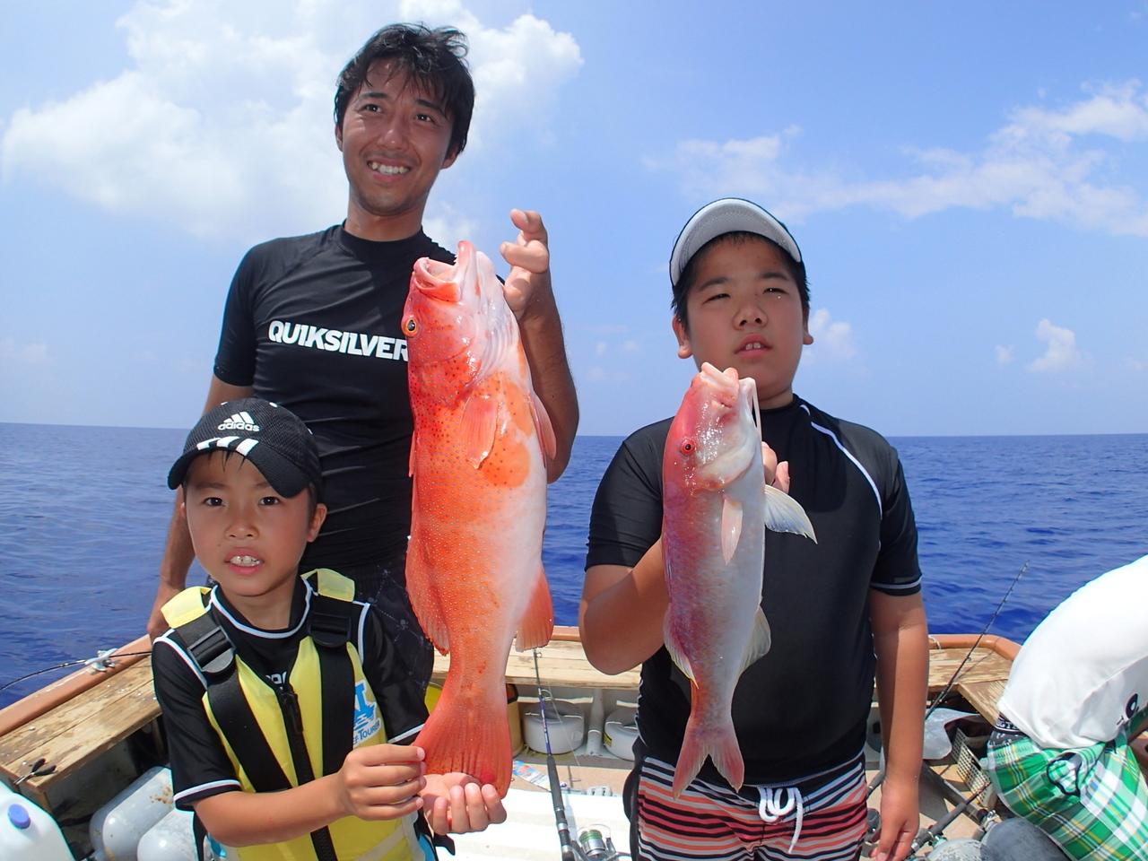 【1日コース】Eコース:石垣島フィッシング&幻の島上陸!トロピカルシュノーケル(コース①+コース④)