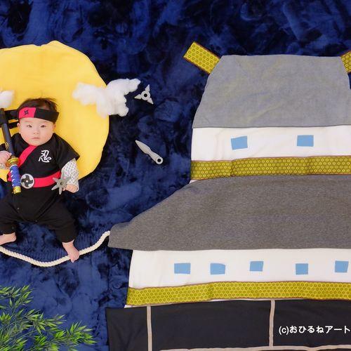 2/25★江戸川区★新作!赤ちゃん忍者・ひなまつりのスペシャル撮影会♪