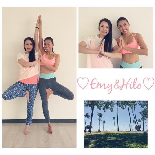 6/19(日)13:00〜13:40 Hawaiian Power Yoga〜ハワイアン♡パワーヨガ〜