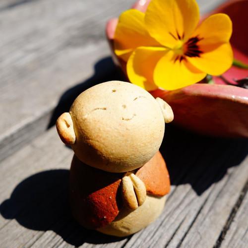 GW陶芸体験「お地蔵さまと花の小鉢作り」@ハッピーロード大山商店街