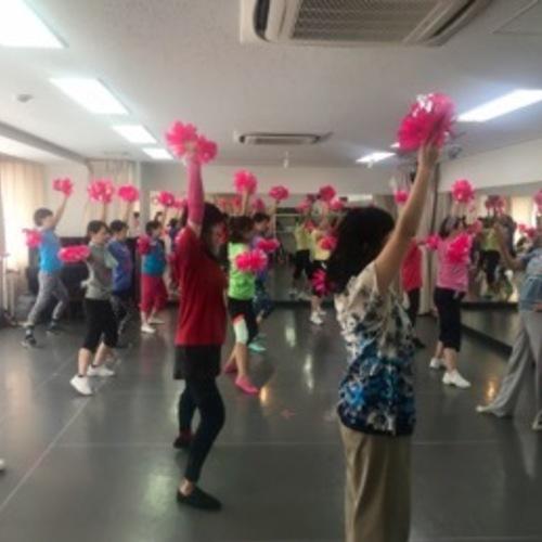 チアダンス教室 10/7(日)10:10〜11:40