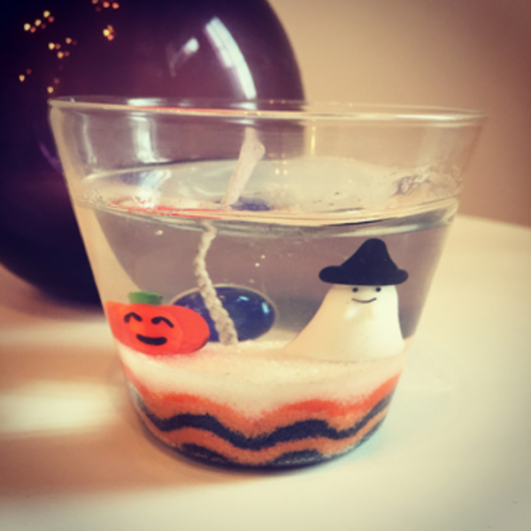 ●10月24日(土) ハロウィンのジェルキャンドルを作ろう♪