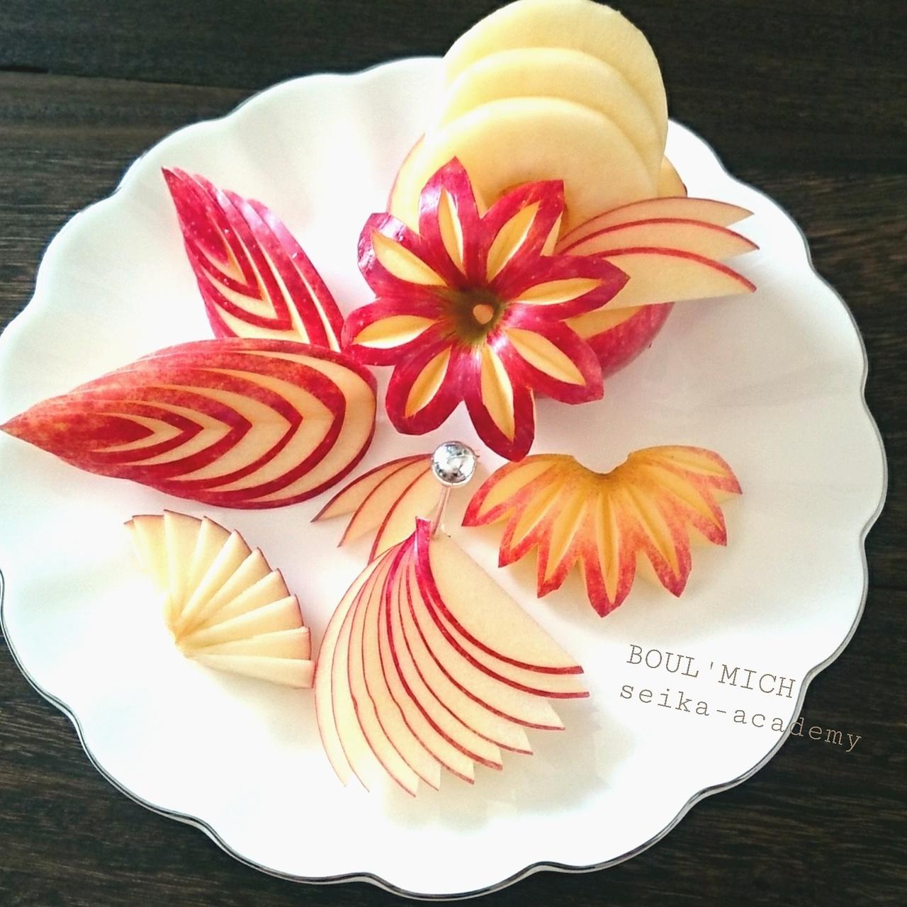 暮らしに役立つ リンゴの切り方レッスン