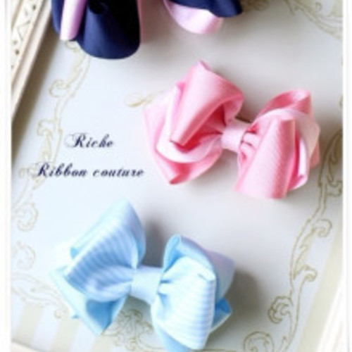 Ribbon couture Rich ディプロマレッスン