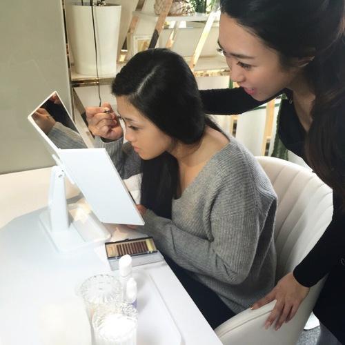 【京都山科区】眉毛エクステプロフェッショナル講習