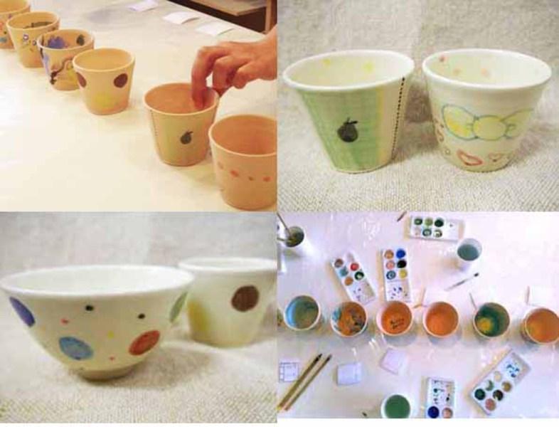 ●8月20日(木)nicorico 『陶の絵付けワークショップ』