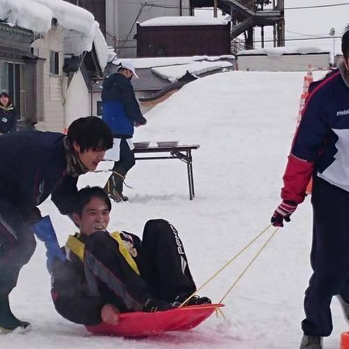 【チーム戦】おとなの雪上運動会 2018