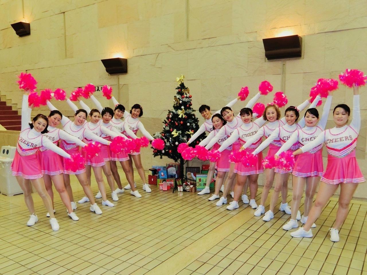 -終了-チアダンス教室 平成31年1月6日(日)10:10〜11:40