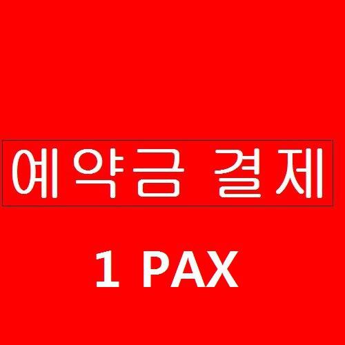 스노클링 예약금 결제 1PAX