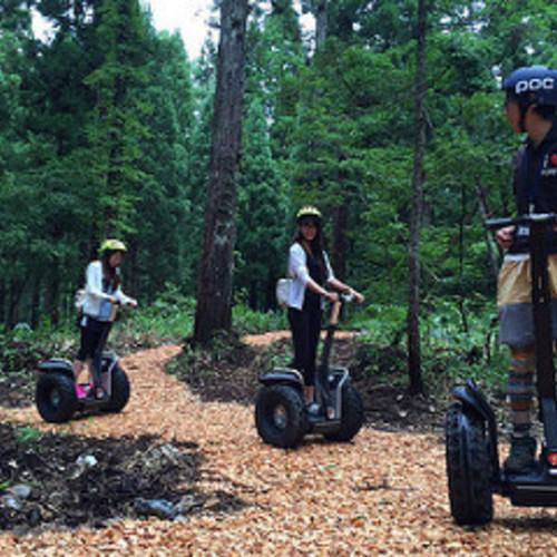 フォレストセグウェイツアー【Forest Segway Tour】(冒険の森 in やまぞえ)