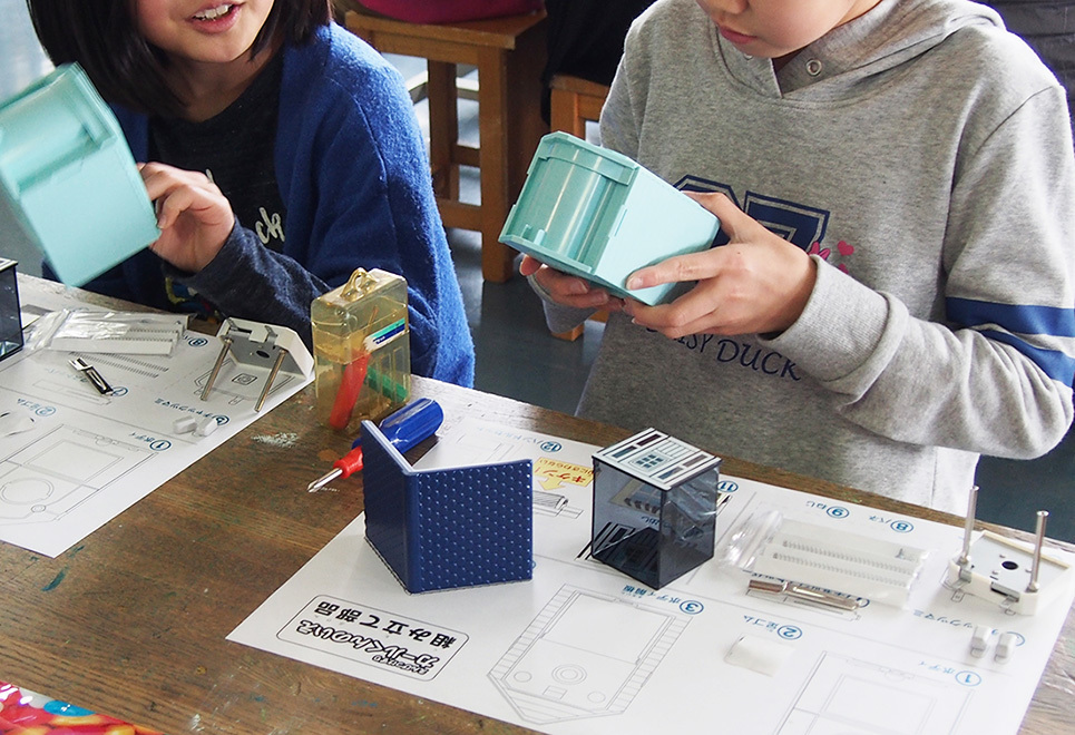 8月4日(金)「えんぴつ削りを組み立てよう」¥2,500+税