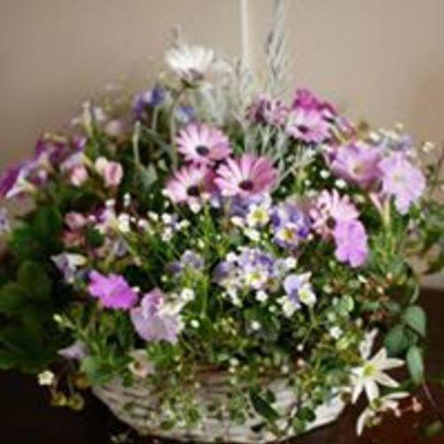季節のお花でギャザリング (asiac教室)