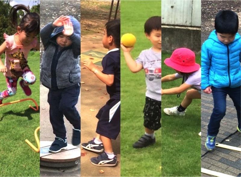 [3歳-4歳]スポーツを楽しめるようになろう!フィットネスプログラム 4月