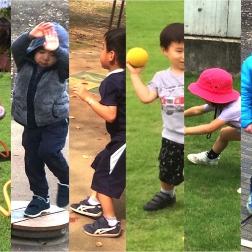 [3-4歳]フィットネスプログラム 4月