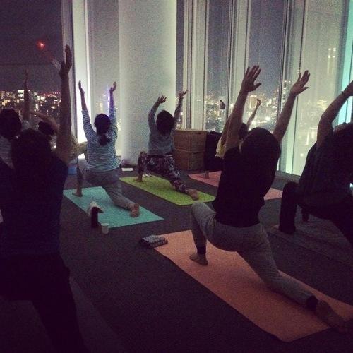 Aroma yoga