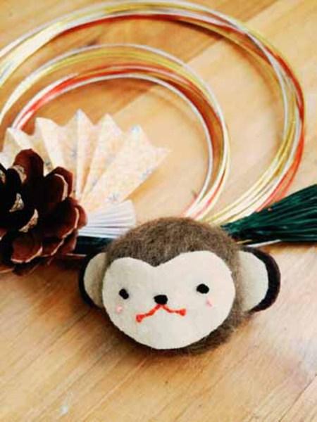 ●12月8日(火)『おさるのお正月飾り』