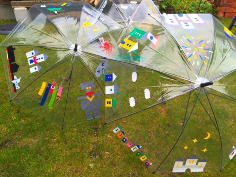 オリジナル傘デザインしよう