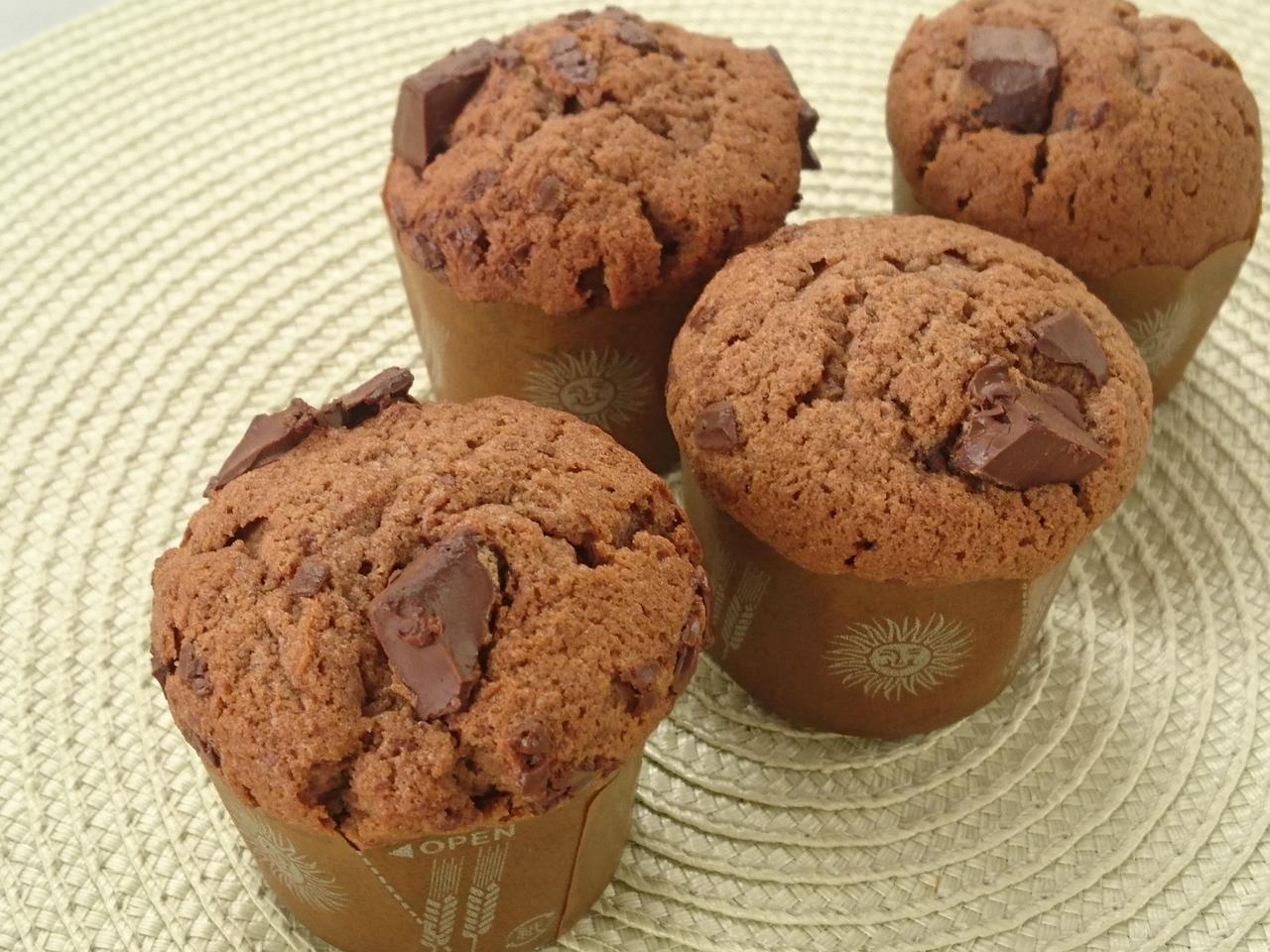 体験レッスン チョコレートカップケーキ