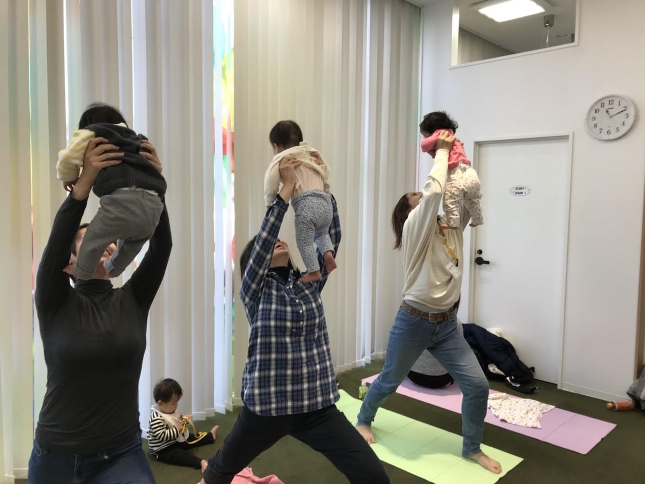 3月☆貸切ベビーヨガ教室☆