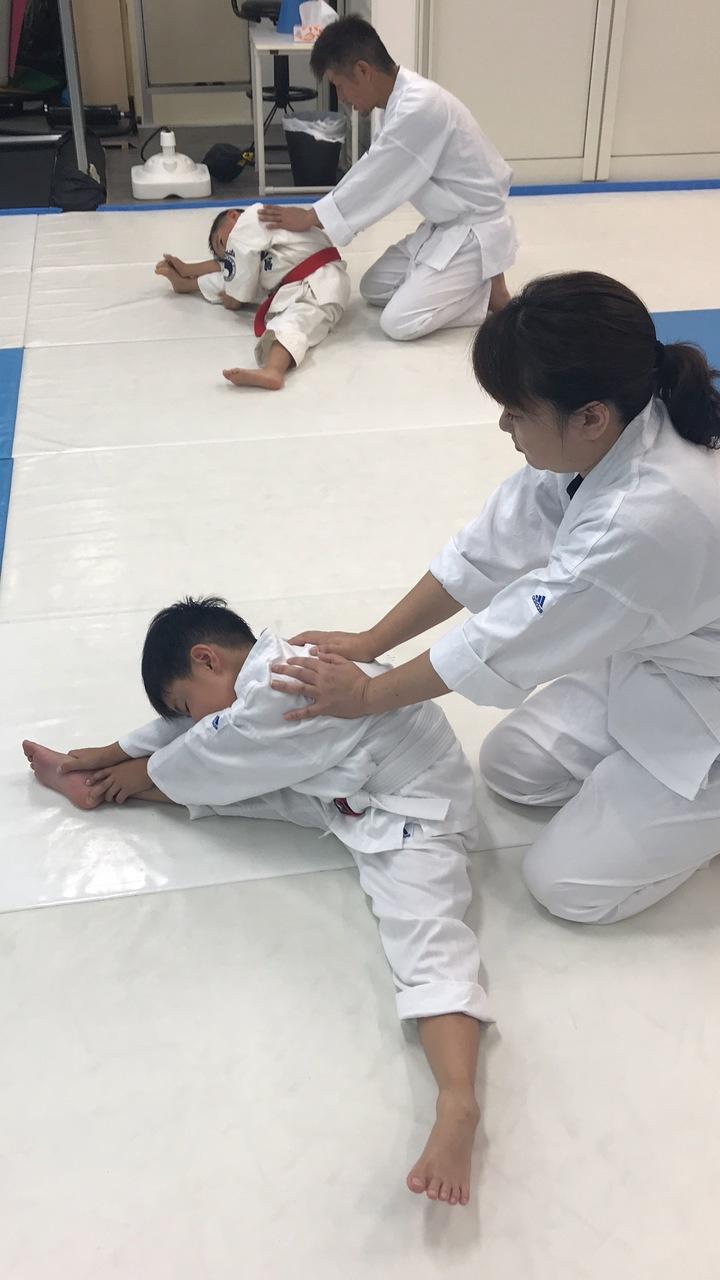 《岸和田》日曜親子空手クラス(サザエさんクラス・一般部少年部合同クラス)🥋👧👨🔰