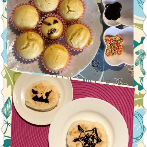 ☆10月☆食育講座~米粉のお菓子にハロウィンデコレーション❤~