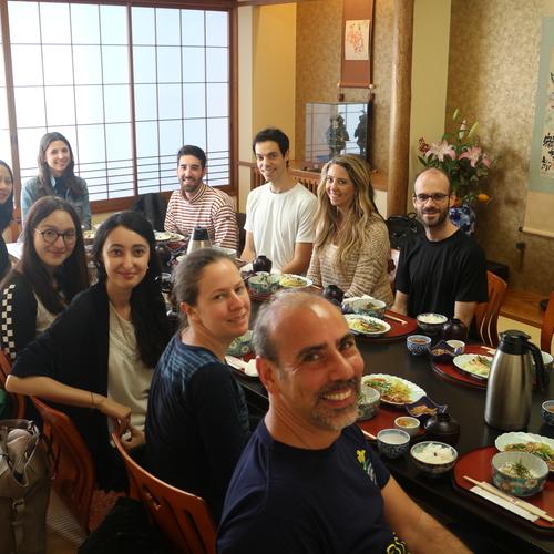 Lunch Tour in Kagurazaka Kaga