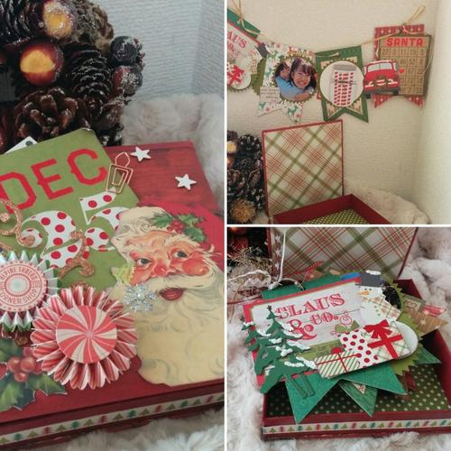 2way ミニアルバム in サンタが微笑むクリスマスボックス