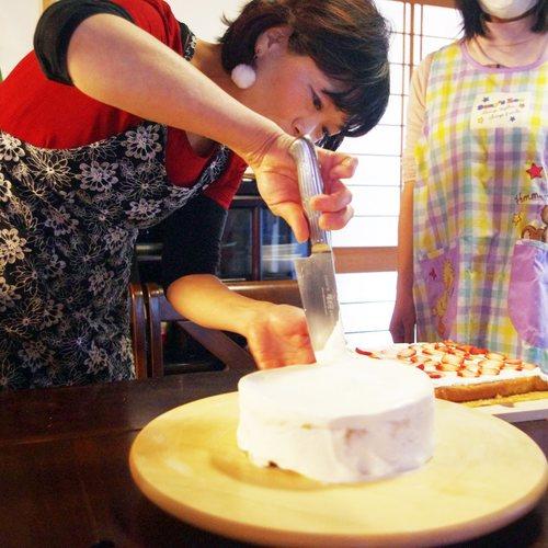米粉クリスマスケーキ