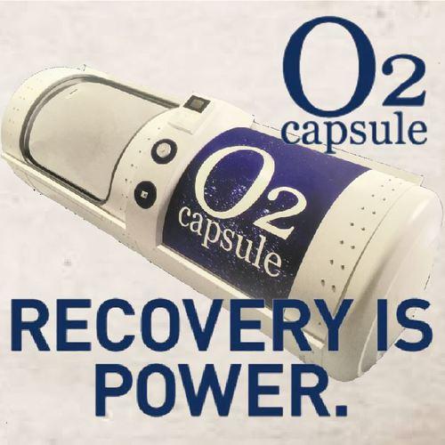 超回復!! 高気圧酸素カプセル【O2 Capsule】