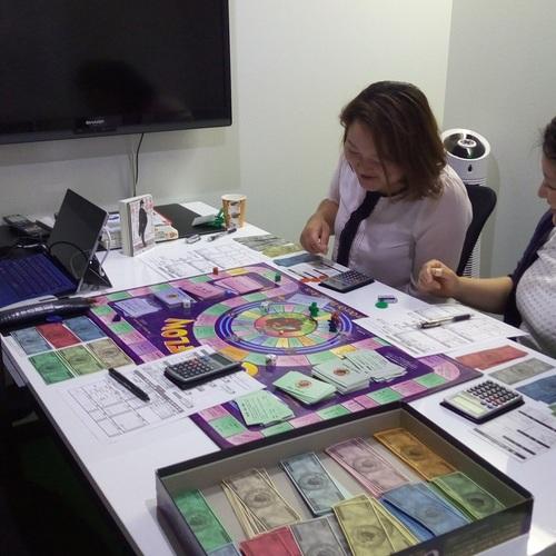 【名古屋】『 キャッシュフローゲーム研修会 』 ボードゲームで体感的にお金や投資の仕組みを学ぶ