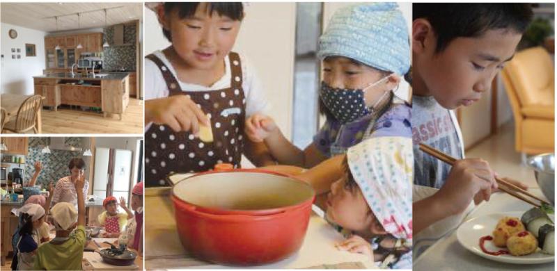 キッズ料理教室 子供だけでコロッケ定食を作ろう!in木のキッチン
