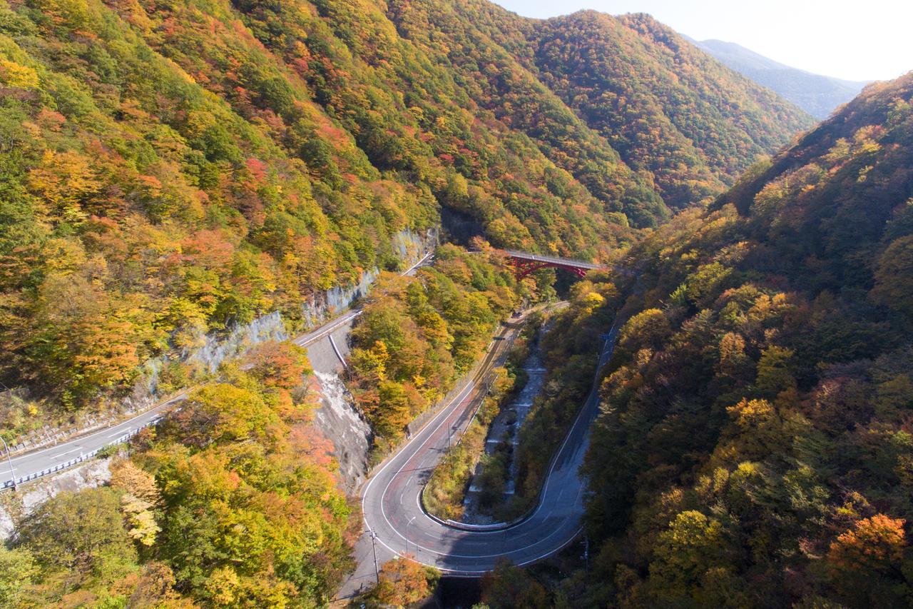 【11】釜石仙人峠の紅葉サイクリング