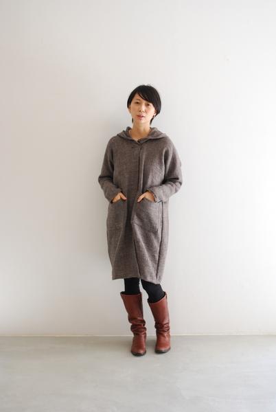 【布博 in 京都】Milleturu 「出張お裁縫部 ミシンでつくるフード付きロングガーディガン」