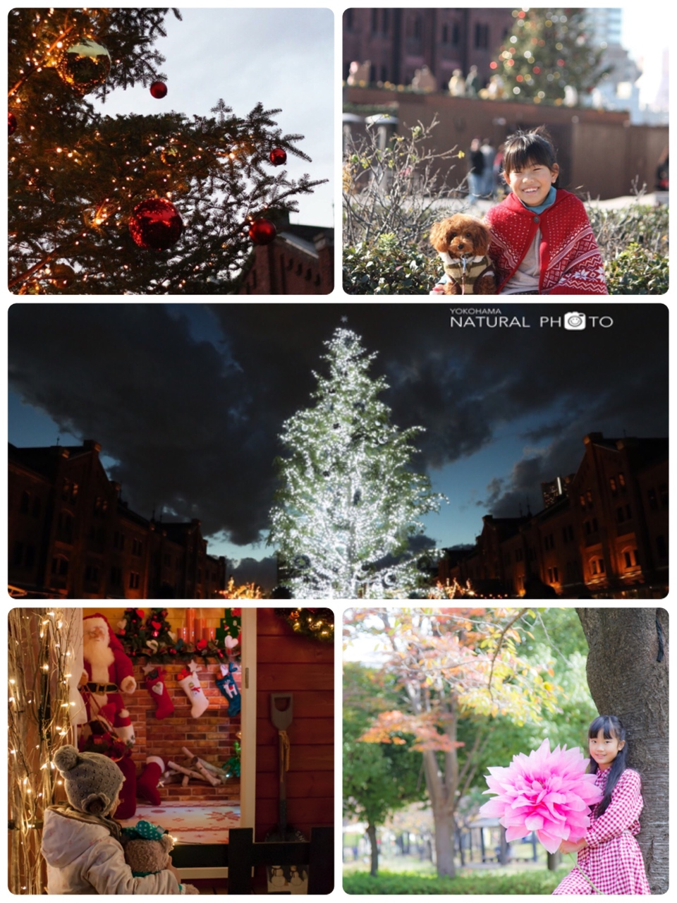 12月9日(土) こどもとかめら 赤レンガ クリスマスマーケット 撮影会 Takayo&Sachi
