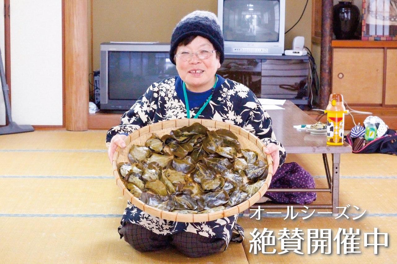 【民家訪問シリーズ】屋久島のおばあちゃんと一緒に郷土菓子「かからん団子」を作ろう!