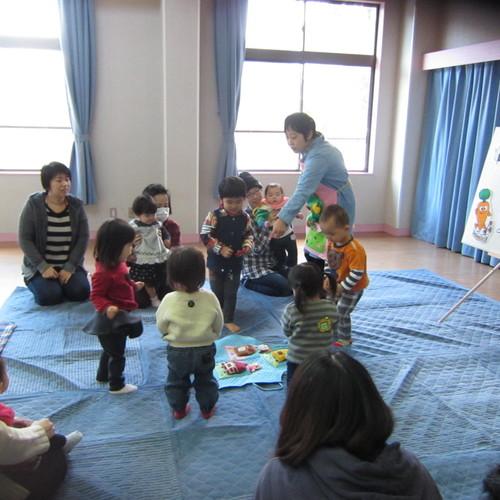 1歳児の遊び方教室