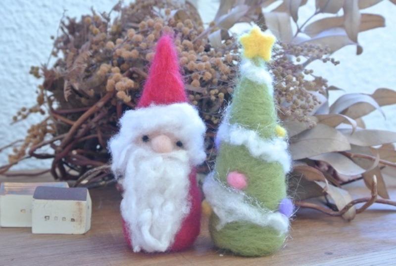 【東急たまプラ】羊毛フェルトでつくるクリスマス (30分)
