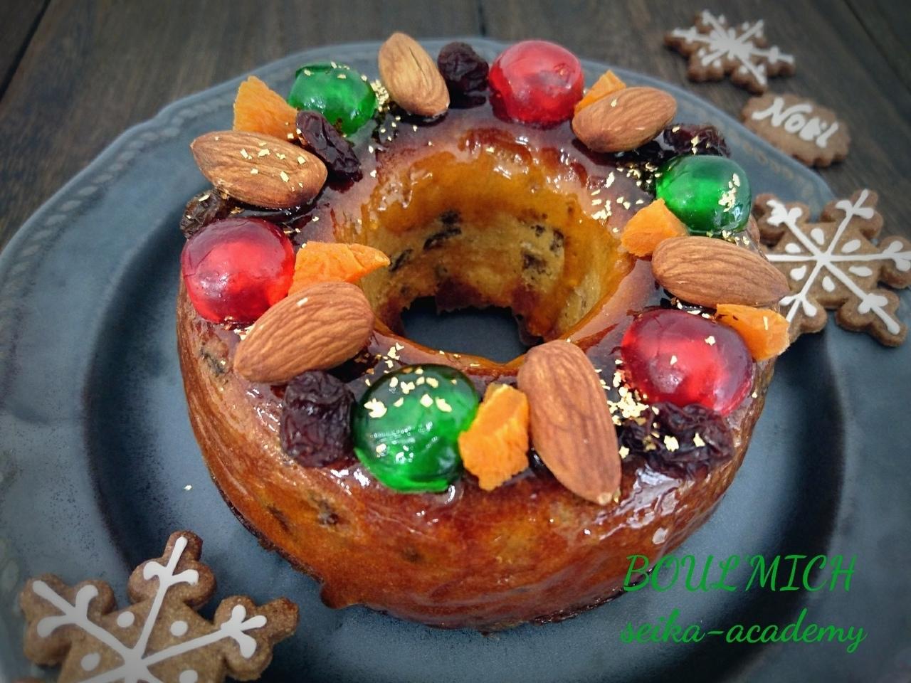 定番のお菓子 フルーツケーキ